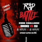 Omoku vs Egi rap battle